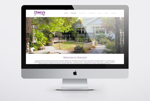 Cherry's Early Learning Centre website